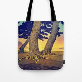 Domi's Heart at Sunset Tote Bag