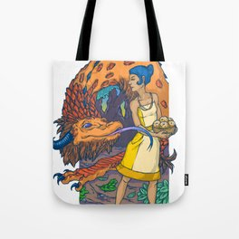 Begging for Treats Tote Bag