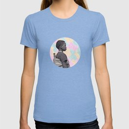 Girl in a Cloud of Colours T-shirt