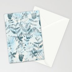Watercolor Botanical Garden IV Stationery Cards