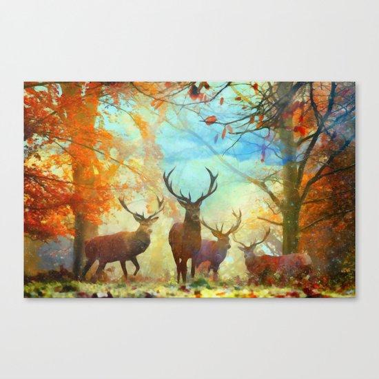 Autumn Forest Watch Canvas Print