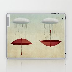 embracing the rain Laptop & iPad Skin