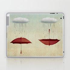 embracing the rain Laptop & iPad Skin