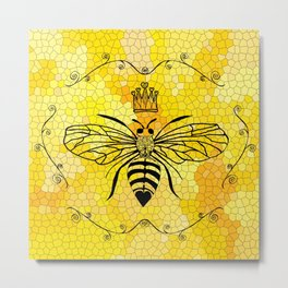 Queen Bee... Metal Print