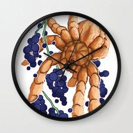 IRIDOPELMA HIRSUTUM Wall Clock