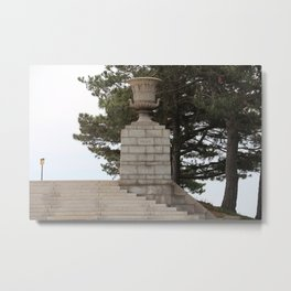 Niagara on the Perry Monument Metal Print