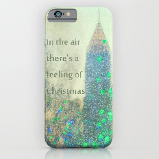 In The Air There's A Feeling iPhone & iPod Case
