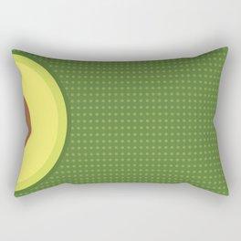 Fresh Avocado Aguacate & Palta Rectangular Pillow
