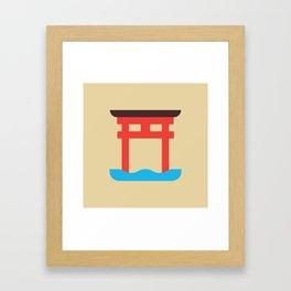 Japan Torii Framed Art Print