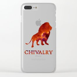 CHIVALRY Clear iPhone Case