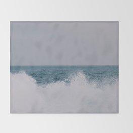 Shorebreak Throw Blanket