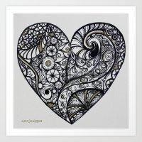 Crazy in love Art Print
