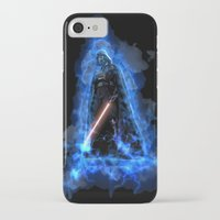 vader iPhone & iPod Cases featuring Vader by Robin Curtiss