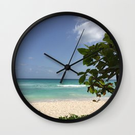 Island Blues Wall Clock