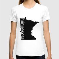 minnesota T-shirts featuring Minnesota by Isabel Moreno-Garcia