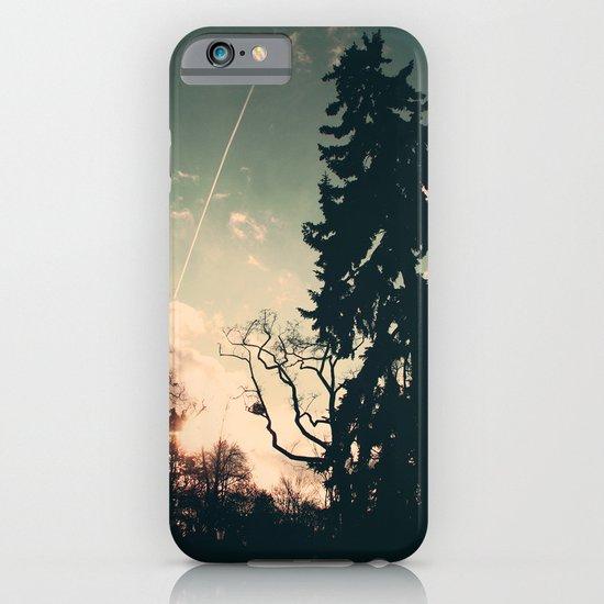 Cold winter's sun iPhone & iPod Case