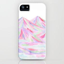 Colorful Landscape iPhone Case