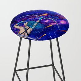 Pole Stars - SAGITTARIUS Bar Stool
