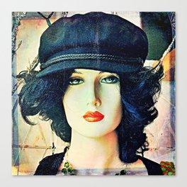 Get The Cool Chapeau Canvas Print
