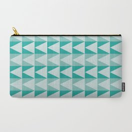 Triangles Up Carry-All Pouch