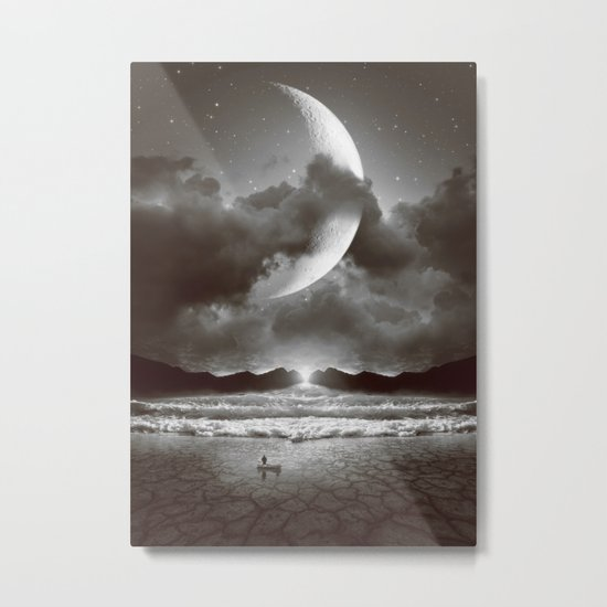 The Currents Will Shift Metal Print