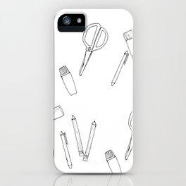 STATIONERY iPhone Case