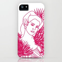LANA DEL iPhone Case