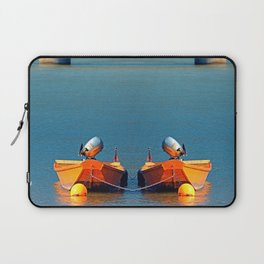 Boat on the river | landscape photography Laptop Sleeve