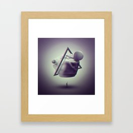 Materialize Framed Art Print
