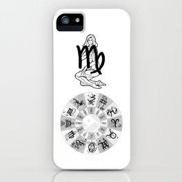 Virgo, the Maiden iPhone Case