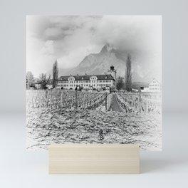 Salenegg Castle Mini Art Print