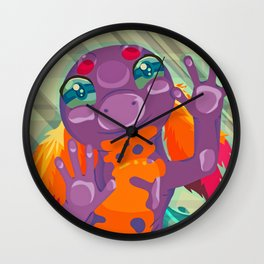 Take me home from the pet store Wall Clock