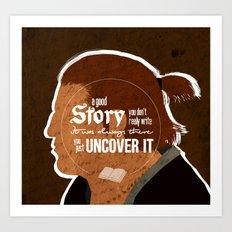 A Good Story Art Print