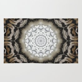Tribal Fur Print Rug