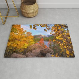 Fall In The Rocky Mountains Rug