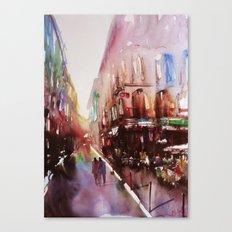 Paris atmospheric #3 Canvas Print
