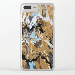 Golden Calypso Clear iPhone Case