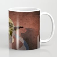 yoda Mugs featuring Yoda by lazylaves