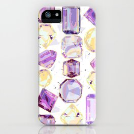 Crystal Gems Stripe iPhone Case