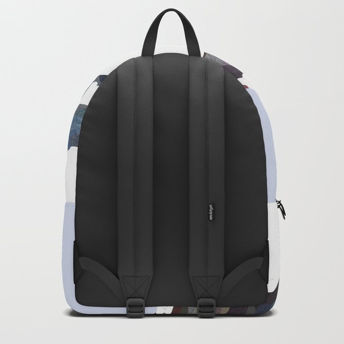 Mountains In The Cold Design Backpack