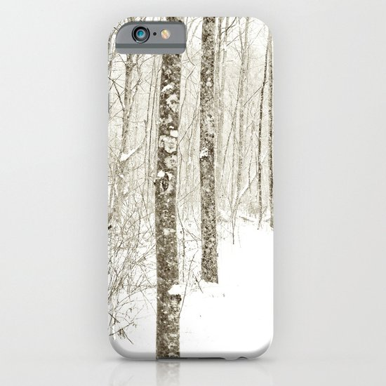 Wintry Mix iPhone & iPod Case