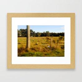 country roads Framed Art Print