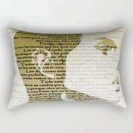 Palabras Rectangular Pillow