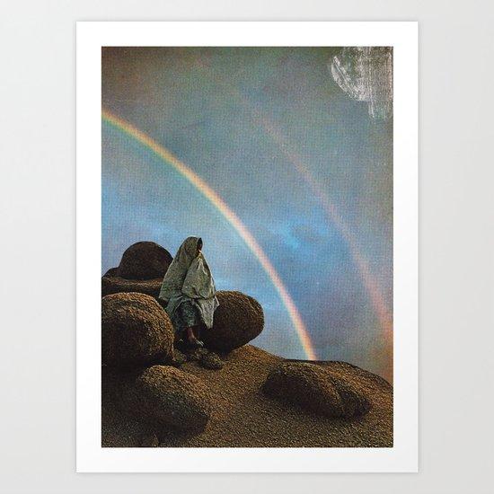 The rainbow gathering Art Print