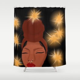 Turbans and sweatshirts Shower Curtain