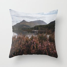 Calm day - Landscape and Nature Photography Throw Pillow