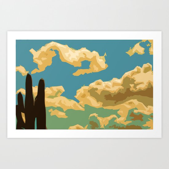 Arizona Skies Art Print
