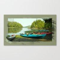 canada Canvas Prints featuring Canada by Elisabetta