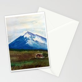 Etna Watercolor Stationery Cards