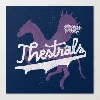 Thestrals Canvas Print